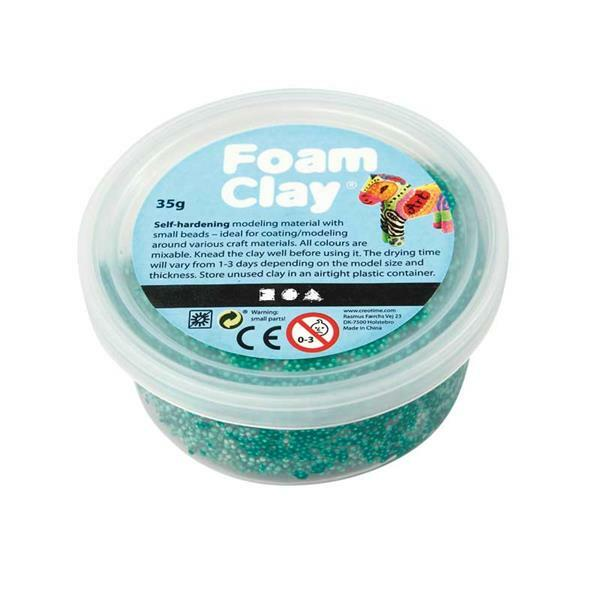 Foam Clay ® - 35 g, donkergroen