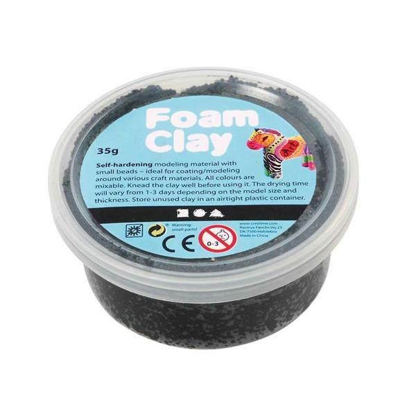 Foam Clay ® - 35 g, schwarz