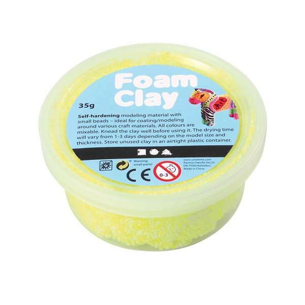 Foam Clay ® - 35 g, neongeel