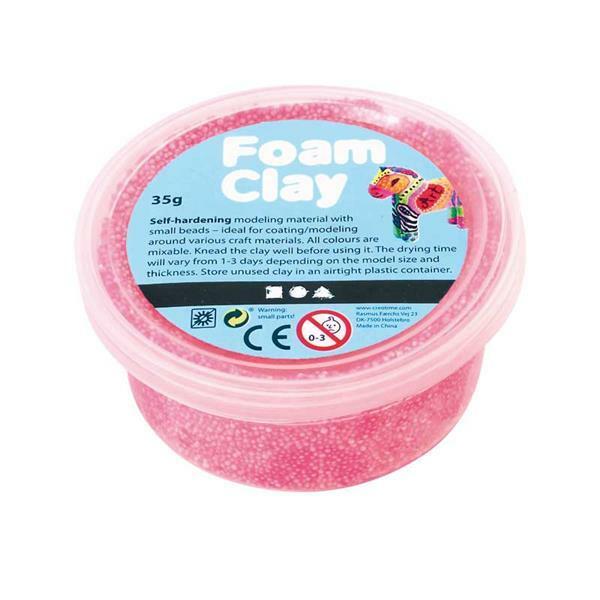Foam Clay ® - 35 g, neonroze
