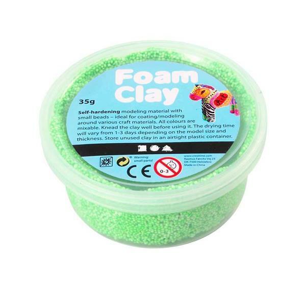 Foam Clay ® - 35 g, neongroen