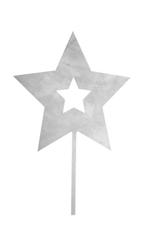 Stern aus Metall, 195 mm