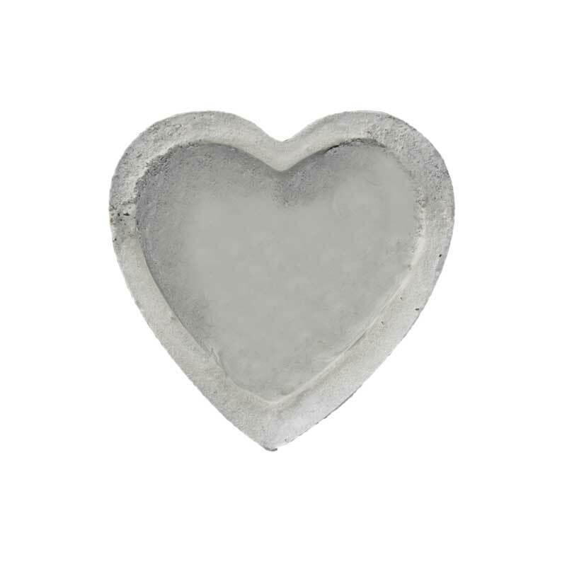 Gießform Herzschale - 6 x 10 cm