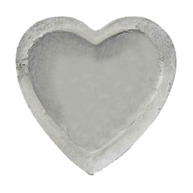 Gießform Herzschale - 10 x 14 cm