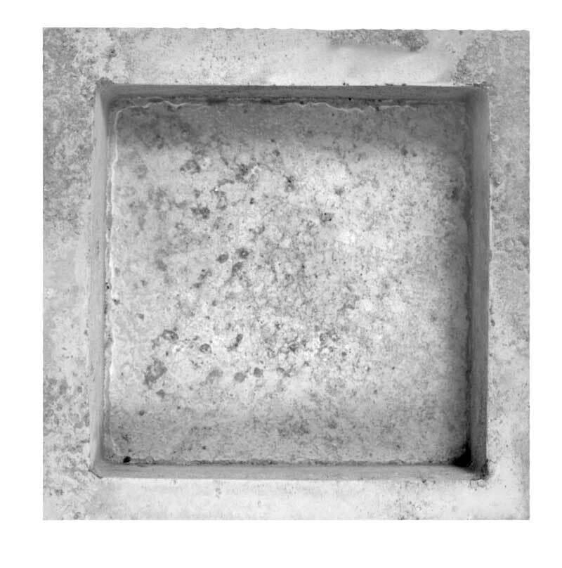 Gietvorm vierkante schaal - 14,5 + 18,5 cm