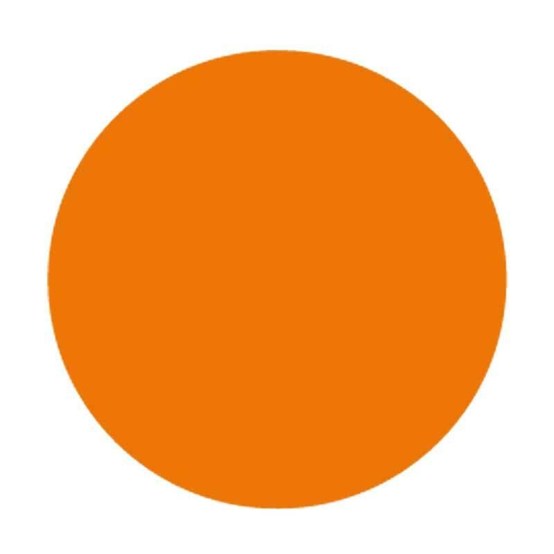 Carton pour encaustique, orange