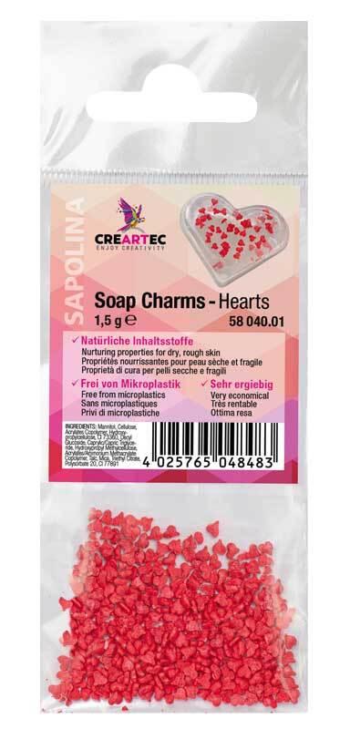 Soap Charms - Herzen