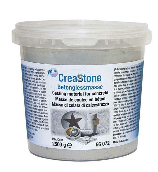 Creastone - beton-gietmateriaal, 2500 g