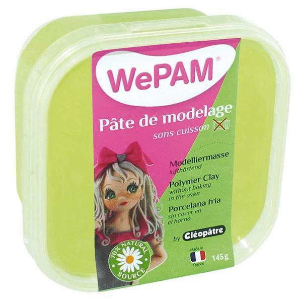 WePAM Pâte de modelage - 145 g, anis