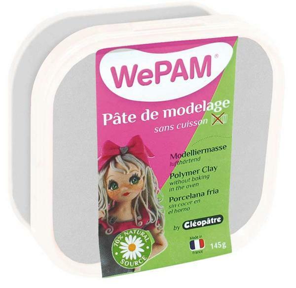 WePAM modelleermassa - 145 g, zilver