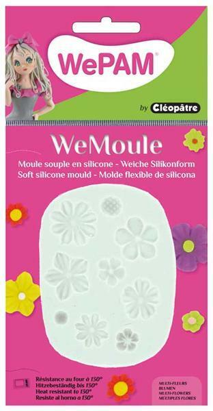 WeMoule siliconenvorm, bloemen