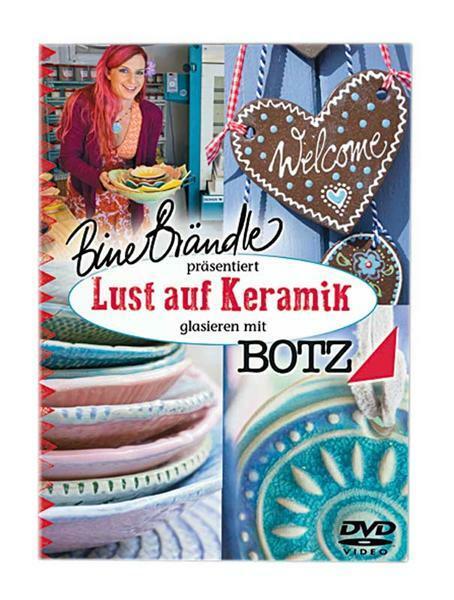 DVD - Lust auf Keramik, mit Bine Brändle