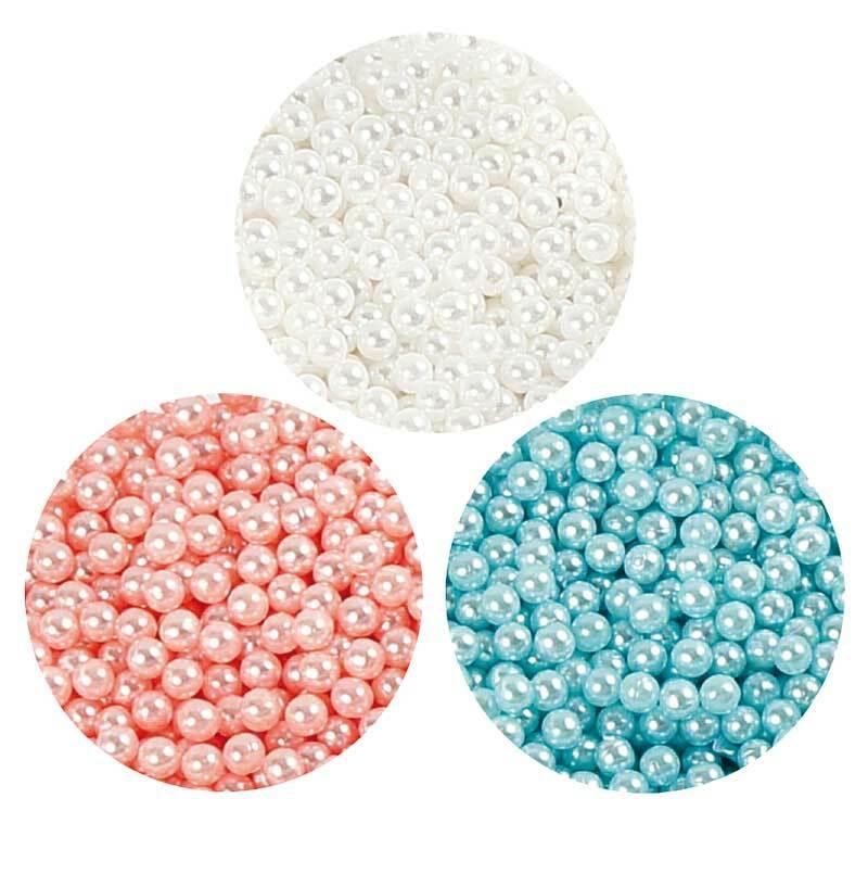 Pearl Clay ® - Set, blau-creme-rot