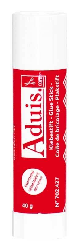 Aduis plakstift - 40 g, zonder oplosmiddel
