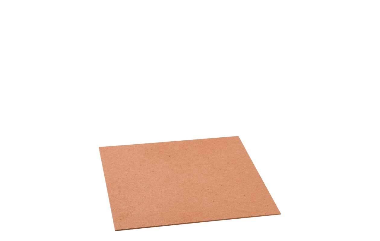 Hartfaserplatte - 4 mm, 30 x 25 cm