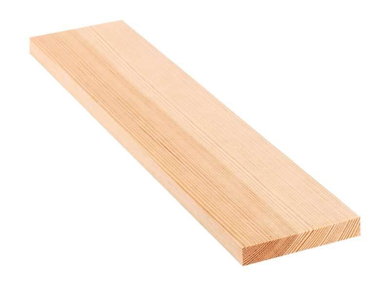 Grenen plank - 30 cm, 1,8 x 11 cm