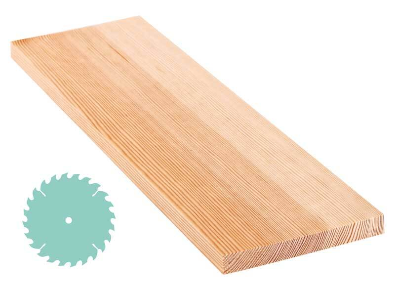 Grenen plank - zaagservice, 1,8 x 15 cm