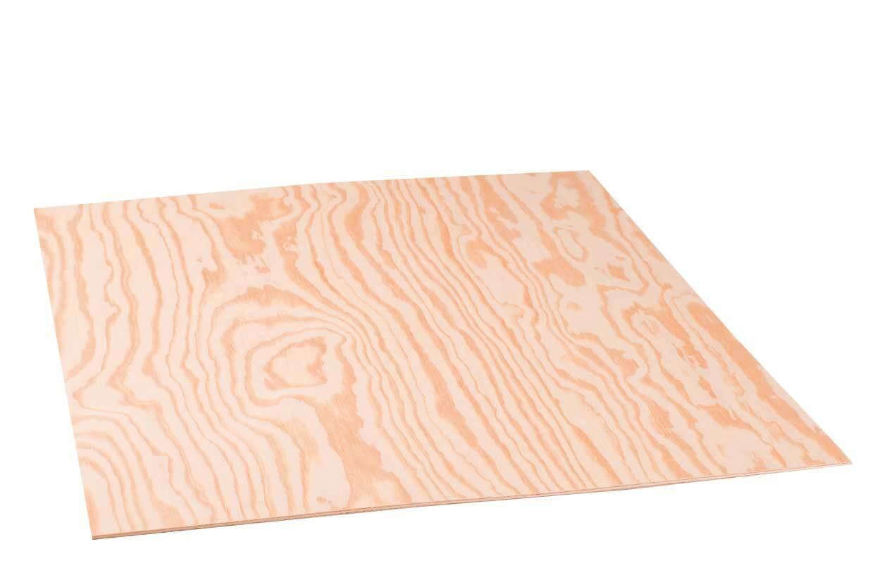 Sperrholz Kiefer - 4 mm, 58 x 50 cm