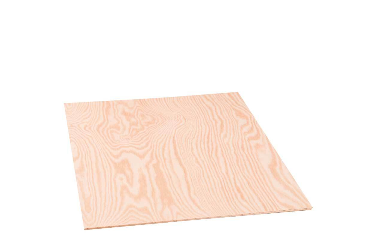Sperrholz Kiefer - 4 mm, 50 x 35 cm
