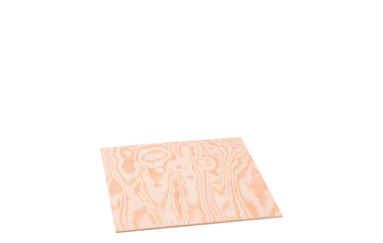 Sperrholz Kiefer - 4 mm, 30 x 25 cm