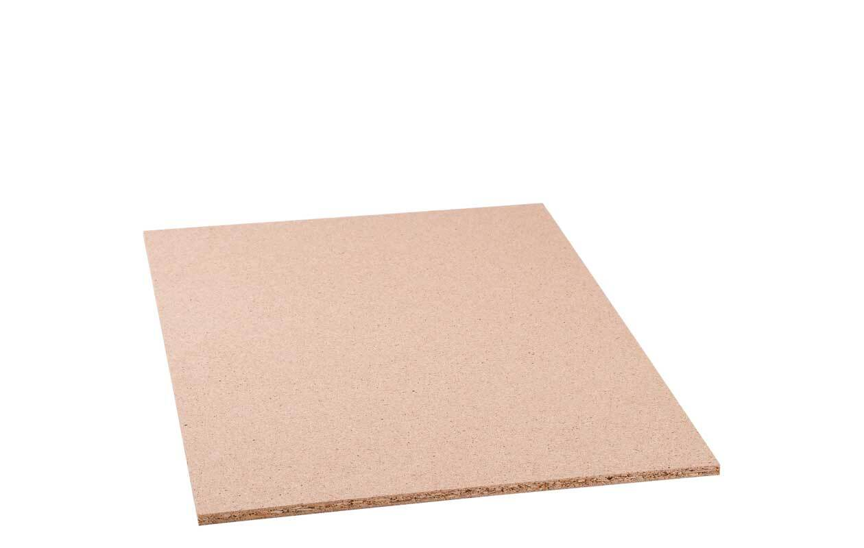 Spanplatte roh - 8 mm, 50 x 35 cm