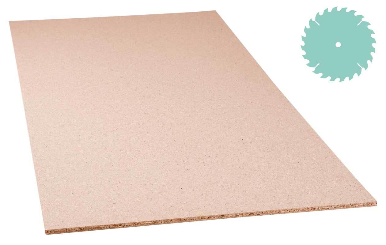 Spanplatte roh - 8 mm (Zuschnitt)