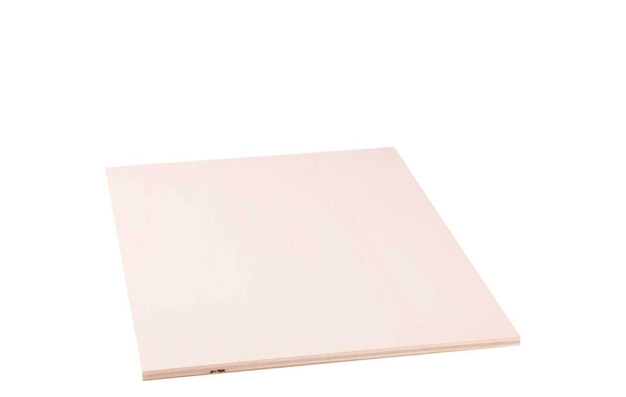 Pappelsperrholz - 3 mm, 50 x 35 cm