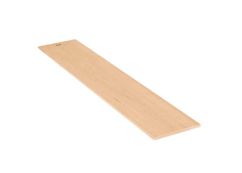 Planchettes en balsa - 10 x 50 cm, 5 mm