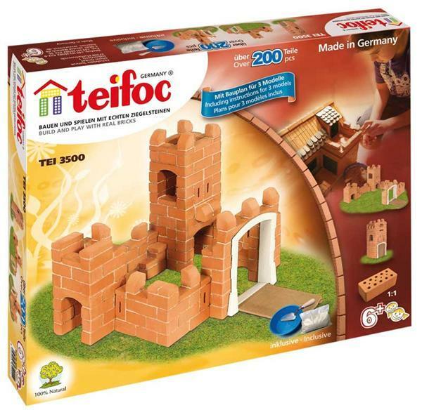 Bouwsteendoos kasteel