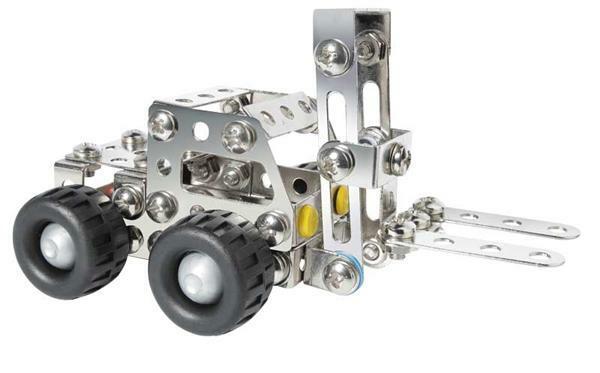 Metallbaukasten - Mini Gabelstapler