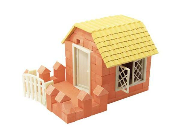 Steinbaukasten Haus