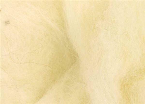 Märchenwolle - 100 g, weiß