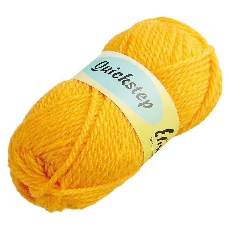 Wol Quickstep - 50 g, geel