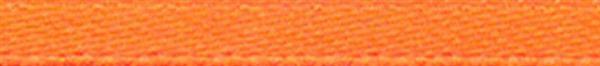Satijnlint met zelfkant - 3 mm, oranje