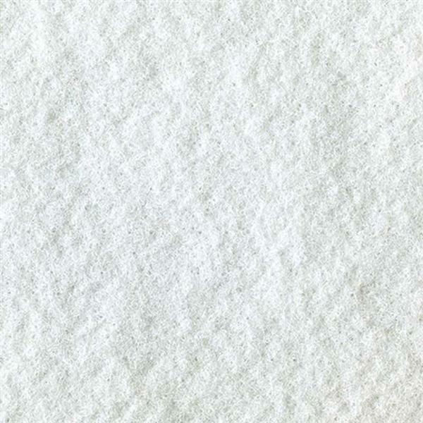 Filzplatte - 30 x 45 cm, weiß
