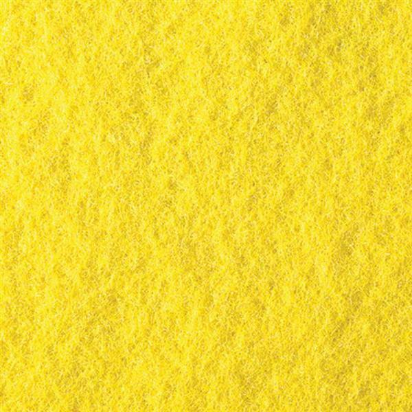 Filzplatte - 30 x 45 cm, gelb