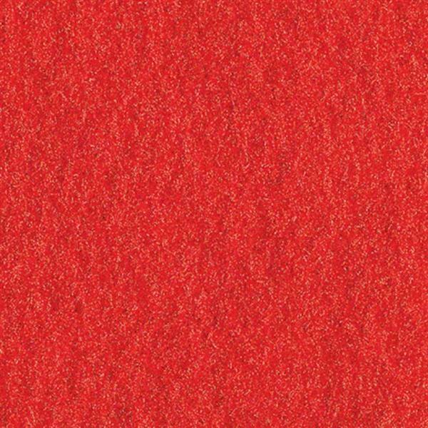 Drukvilt - 30 x 45 cm, rood