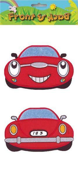 Applikation - hinten - vorne, Auto, ca. 11,4 x