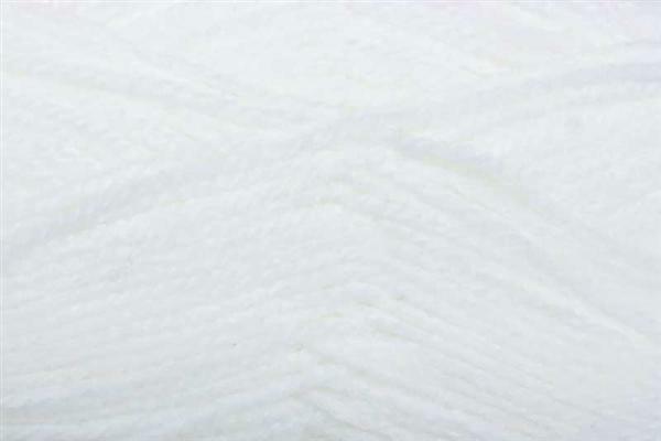 Schulwolle Lisa - 50 g, weiß