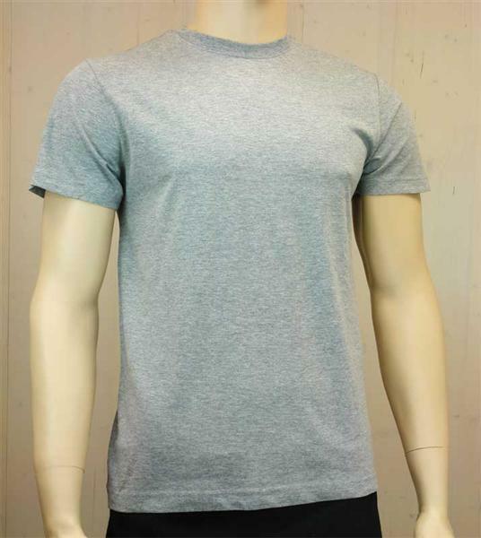 T-shirt man - grijs, L