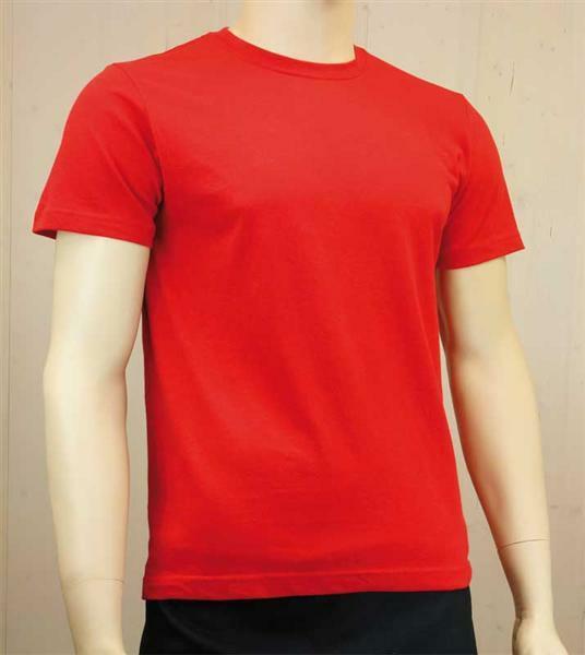 T-shirt man - rood, L
