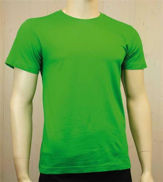 T-shirt man - groen, L