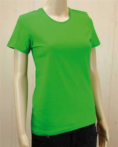T-shirt vrouw - groen, L