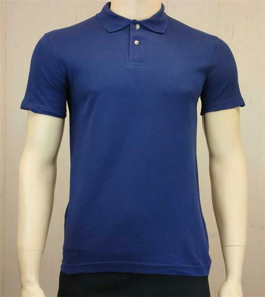 Poloshirt voor man - donkerblauw, L