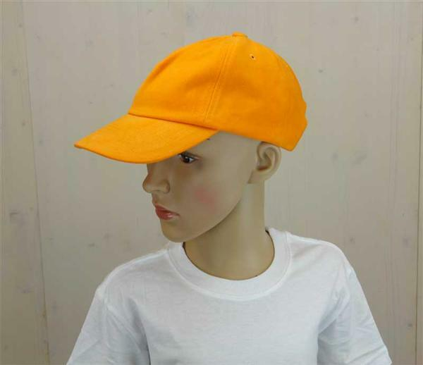 Casquette base-ball - enfant, orange