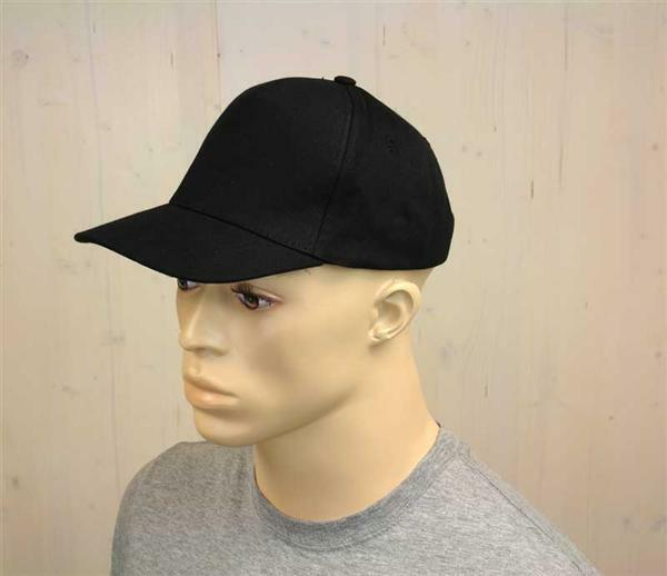 Baseball cap - volwassene, zwart