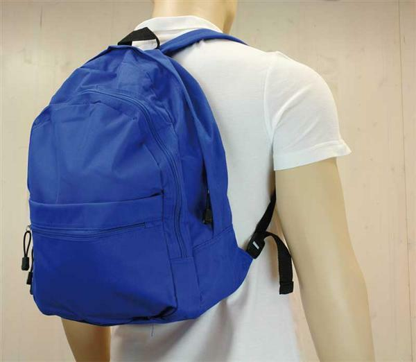 Rugzak - ca. 35 x 45 x 17 cm, blauw