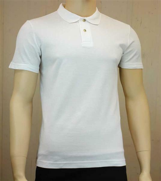 Poloshirt voor man - wit, L
