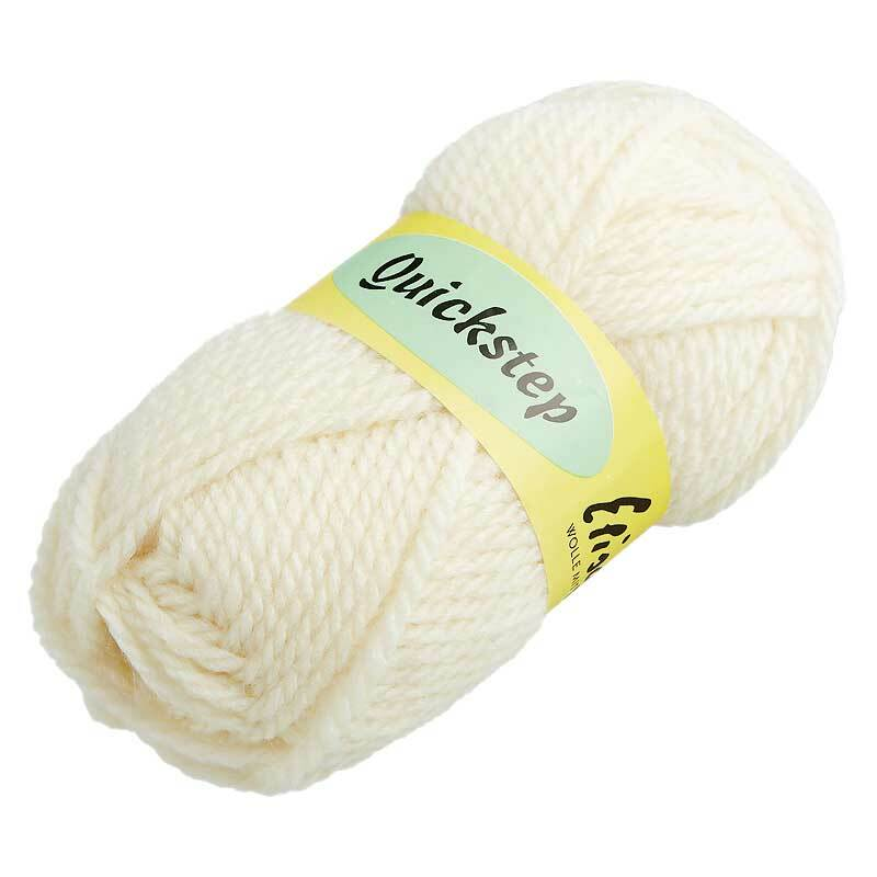 Wolle Quickstep - 50 g, creme