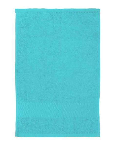 Gastendoekje/handdoek - ca. 30 x 50 cm, aqua